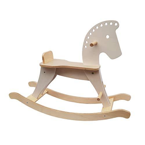 Schaukelpferd aus Holz: Spielzeug ab 1...