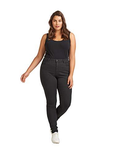 Zizzi Damen Amy Jeans Slim Fit Jeanshose...