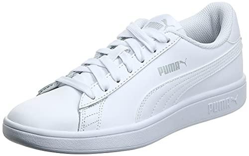 PUMA Unisex Smash v2 L Sneaker, White...