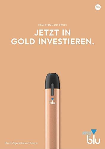 E-Zigarette myblu Farbe Gold/Nur...