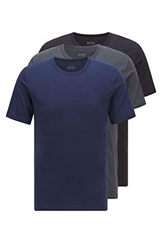 BOSS Herren T-Shirt RN 3P CO T-Shirts...