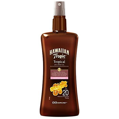 Hawaiian Tropic Protective Dry Spray Oil...