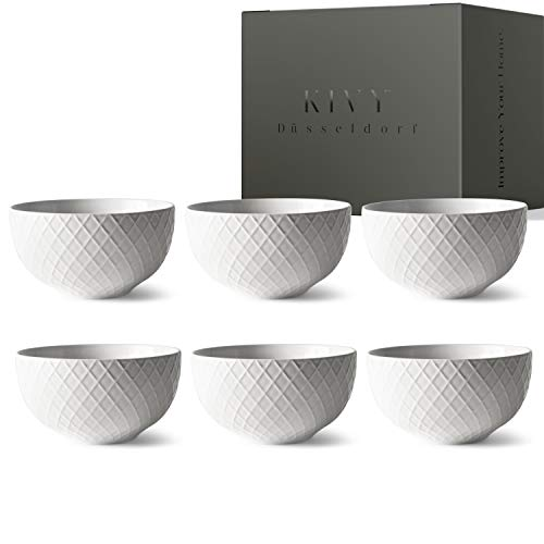 KIVY® Müslischalen Set [6 x 850 ml] -...