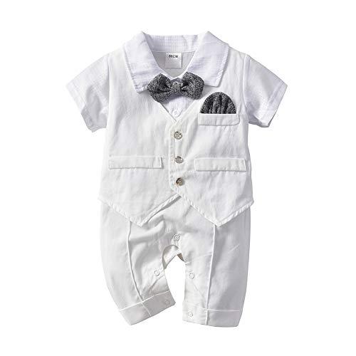 Tancurry Gentleman Weiß Baby Jungen...