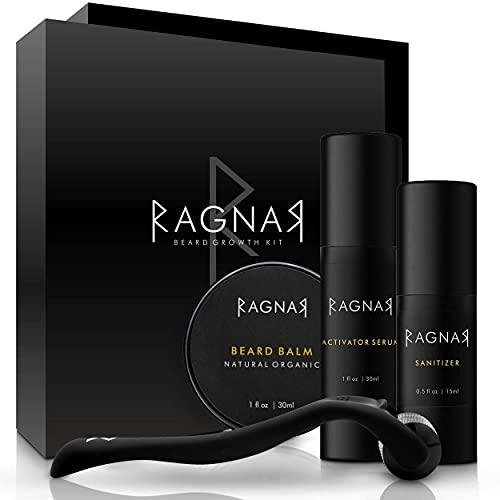 RAGNAR - Bart Set   Bartwuchsmittel für...