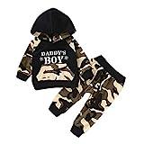 BeautyTop Unisex Strampler Baby Mädchen Jungen Overalls Warm Strampelanzug Baumwolle Kinderkleidung Kleidungsset für Winter Herbst 0-12 Monate