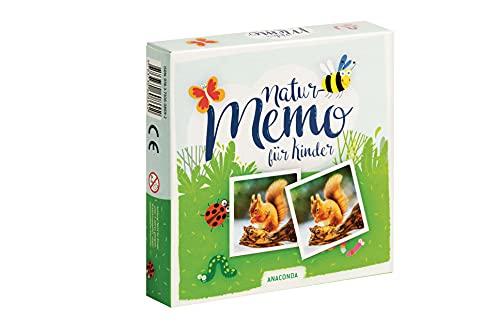 Natur Memo-Spiel für Kinder: Memo-Spiel...