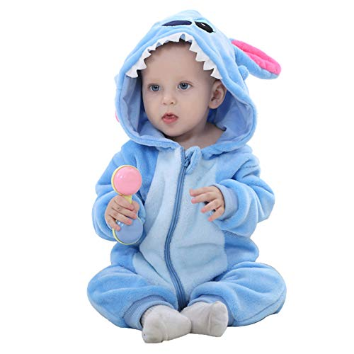 WSLCN Unisex Baby Weich Flanell Overall...
