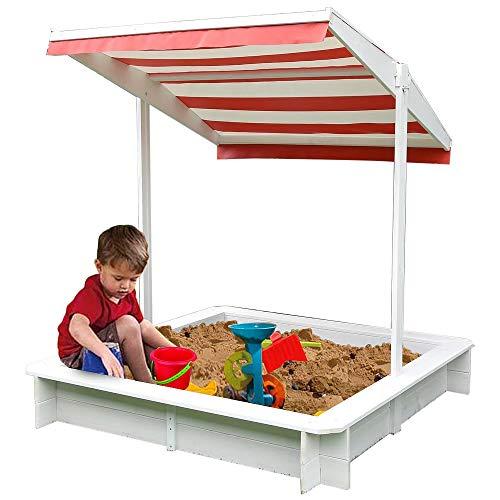 Melko Sandkasten mit Sonnenschutz...