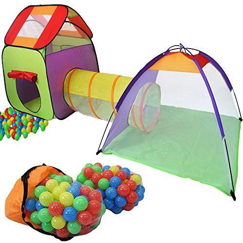 KIDUKU Kinderspielzelt Bällebad Pop Up...
