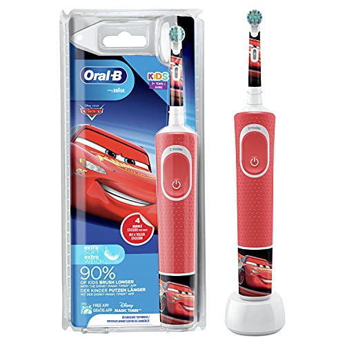 Oral-B Kids Cars Elektrische Zahnbürste...