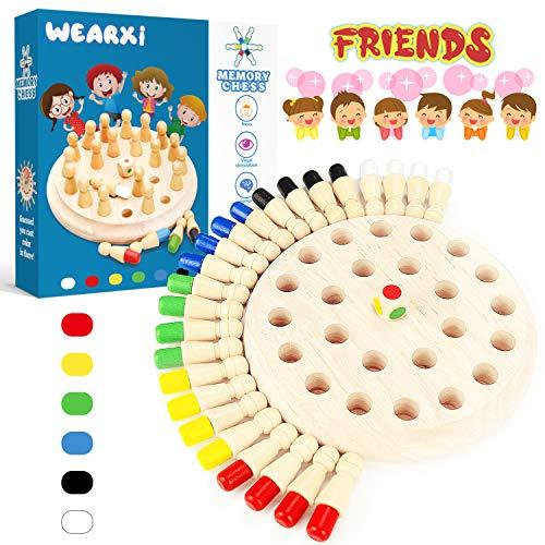 WEARXI Memory Spiel Spielzeug ab 2 3 4...