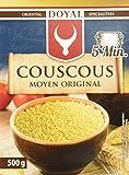DOYAL Couscous – Luftig lockerer Couscous mit leicht nussigem Geschmack – Typisch nordafrikanische Spezialität – 1 x 500 g