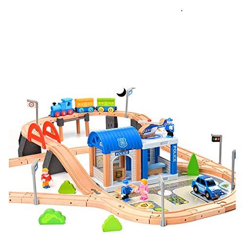 Holzeisenbahn Set Eisenbahn für Kinder...
