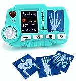 Brigamo ⛑ Spielzeug EKG - und Röntgen Gerät mit realistischer Funktion- darf in keinem Spielzeug Arztkoffer fehlen ⛑