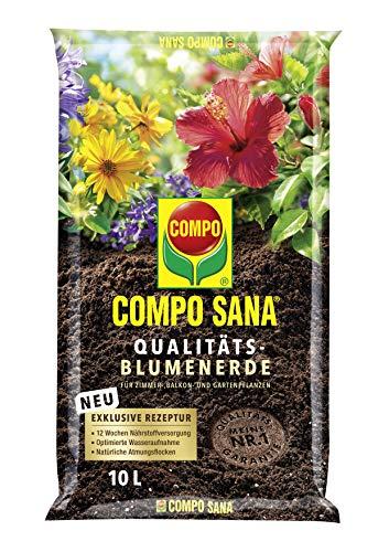 Compo SANA Qualitäts-Blumenerde mit 12...
