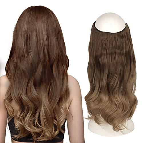 FESHFEN Secrets Hair Extensions, 46 cm...