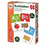 Jumbo Spiele 19548 - ich lerne Buchstaben - Lernspiel für Kinder - Ab 3 Jahren
