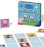 Ravensburger Peppa Pig Mini-Memory, für Kinder ab 3 Jahren, klassisches Bilder-Schnapp-Spiel für passende Paare, 21376 (evtl. Nicht in Deutscher Sprache)