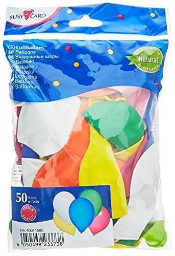 Susy Card 40011585 - Luftballons, 50...
