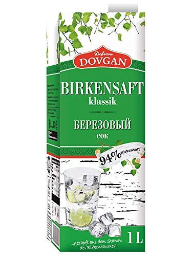 Dovgan Birkensaft klassik 6x 1L