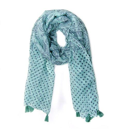 MANUMAR Schal für Damen in türkis...