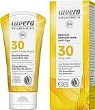 lavera Sensitiv Sonnencreme Anti-Age LSF 30 • Sonnenschutz • Lichtschutzfaktor 30 • Naturkosmetik • vegan • zertifiziert • 50 ml