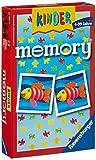 Ravensburger 23103 - Kindermemory, der Spieleklassiker für die ganze Familie, Merkspiel für 2-8 Spieler ab 4 Jahren