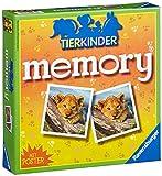 Ravensburger 21275 - Tierkinder Memory, der Spieleklassiker für Tierfans, Merkspiel für 2-8 Spieler ab 4 Jahren