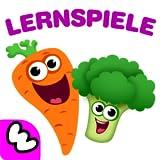 Kindergarten Lernspiele für Kleine Kinder ab Kinderspiele! Baby Lernen Farben und Formen, Früchte & Gemüse Gratis für Mädchen und Jungen! Denkspiele kostenlos für Kleinkinder ab 2 3 4 5 jahre!
