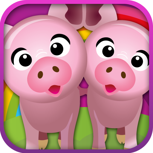 Tierpaare - Ein lustiges Memo Spiel für...
