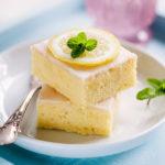 Zitronen-Buttermilch Kuchen vom Blech