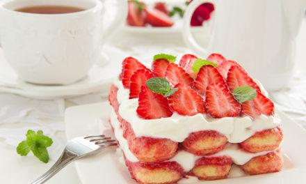 Erdbeer-Kokos-Tiramisu
