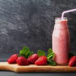 Leichter Erdbeer-Joghurt-Drink