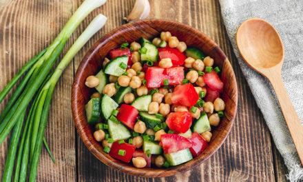 Würziger Kichererbsen-Salat
