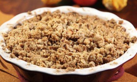 Apfel-Birnen-Crumble – ein fruchtiges Dessert für kalte Tage