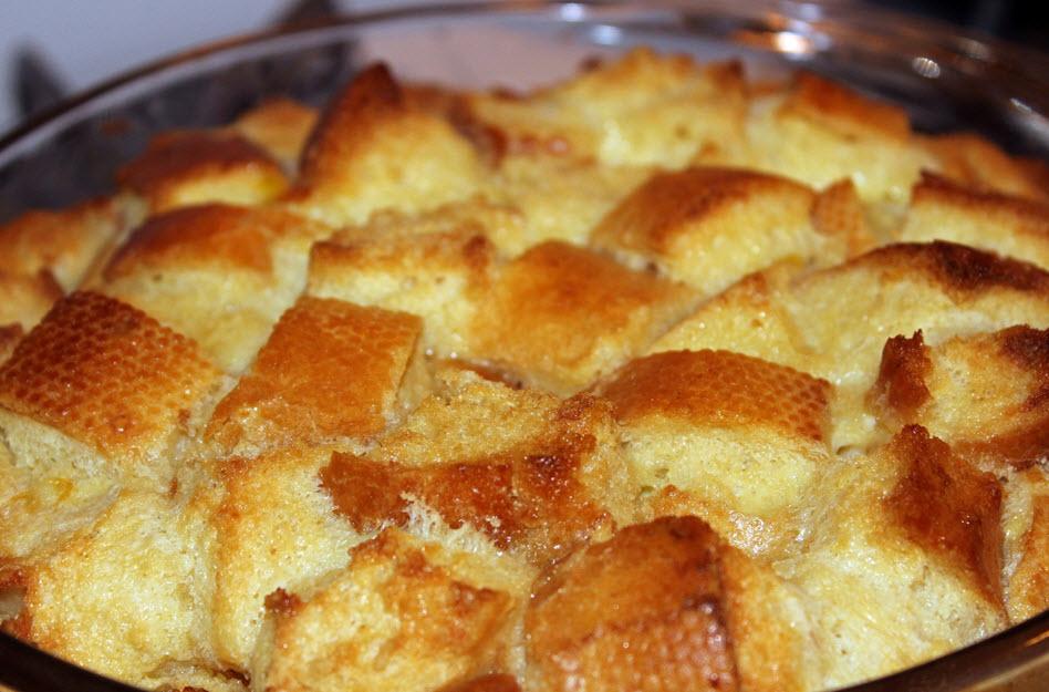 Brotpudding aus Belgien – süß und vollwertig