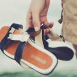Bequeme Latschen schonen die Füße