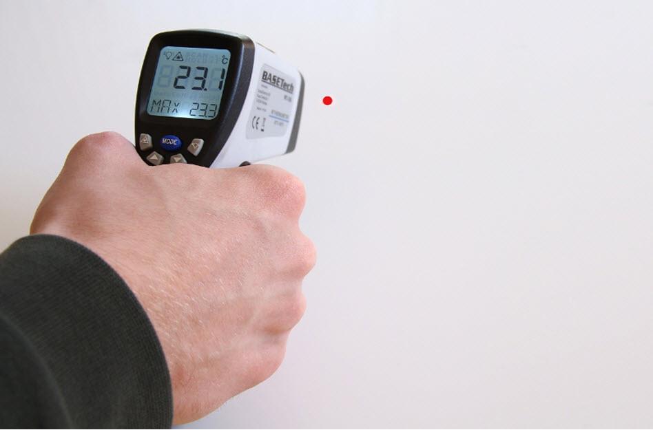 Mit dem Infrarot Thermometer Flüssigkeiten richtig messen
