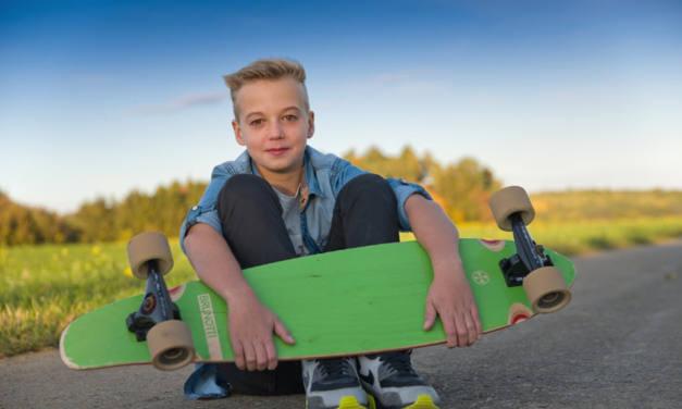 So gesund ist es, wenn Kinder Longboard fahren