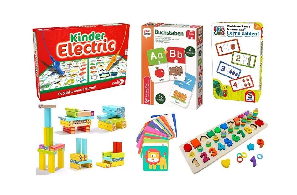 Lernspiele für Kinder für mehr Spaß beim Lernen