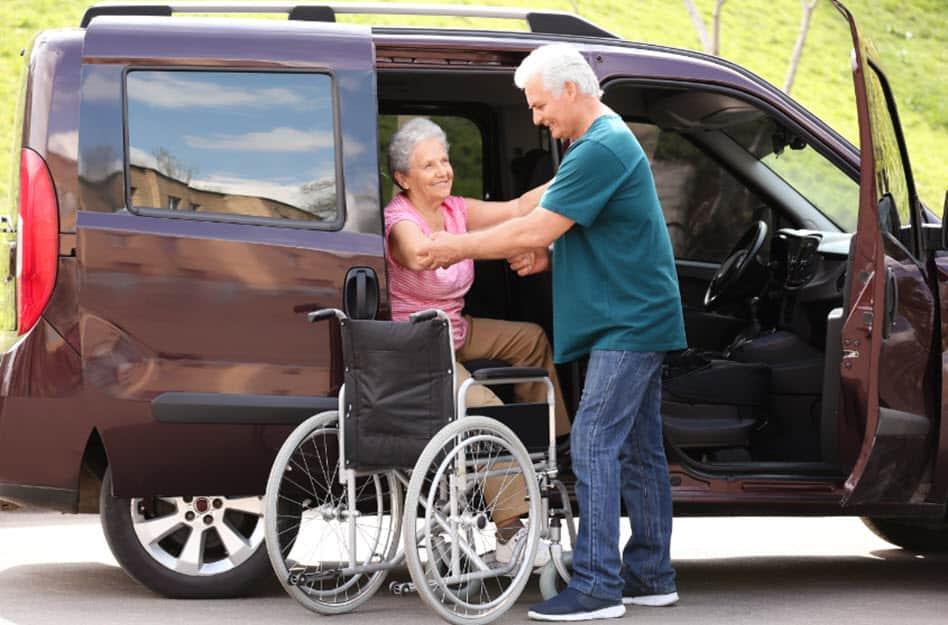 Mit behindertengerechten Fahrzeugen wird jede Reise zum Vergnügen